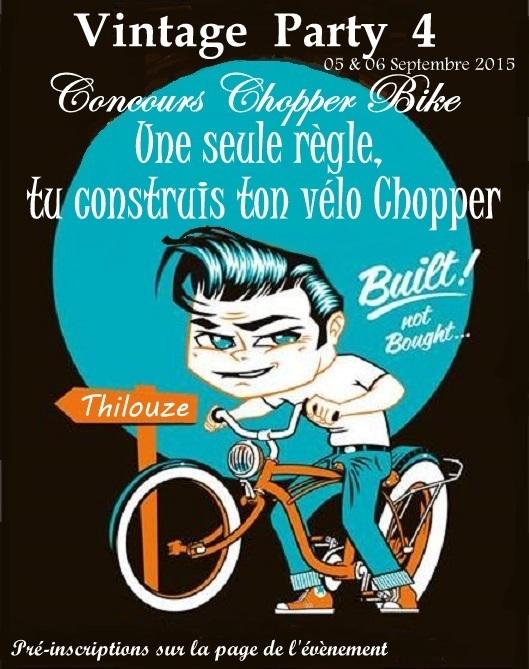 Concours Chopper Bike ( Vintage party 4 )  310