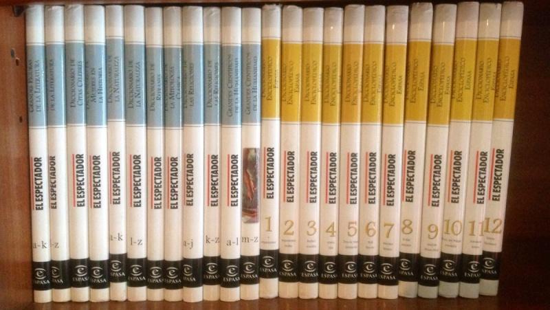 Diccionario Enciclopédico El Espectador-24 Tomos-Español Diccio10