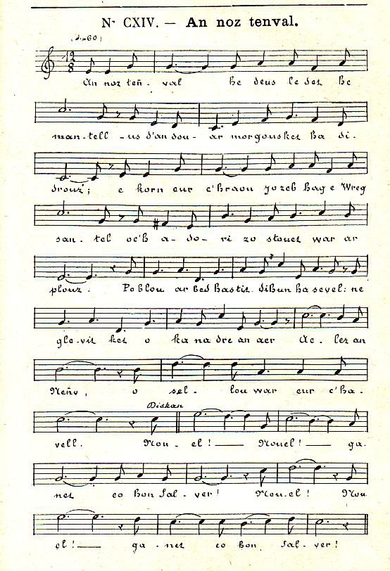 Traduction chanson en breton Gwened 17679910