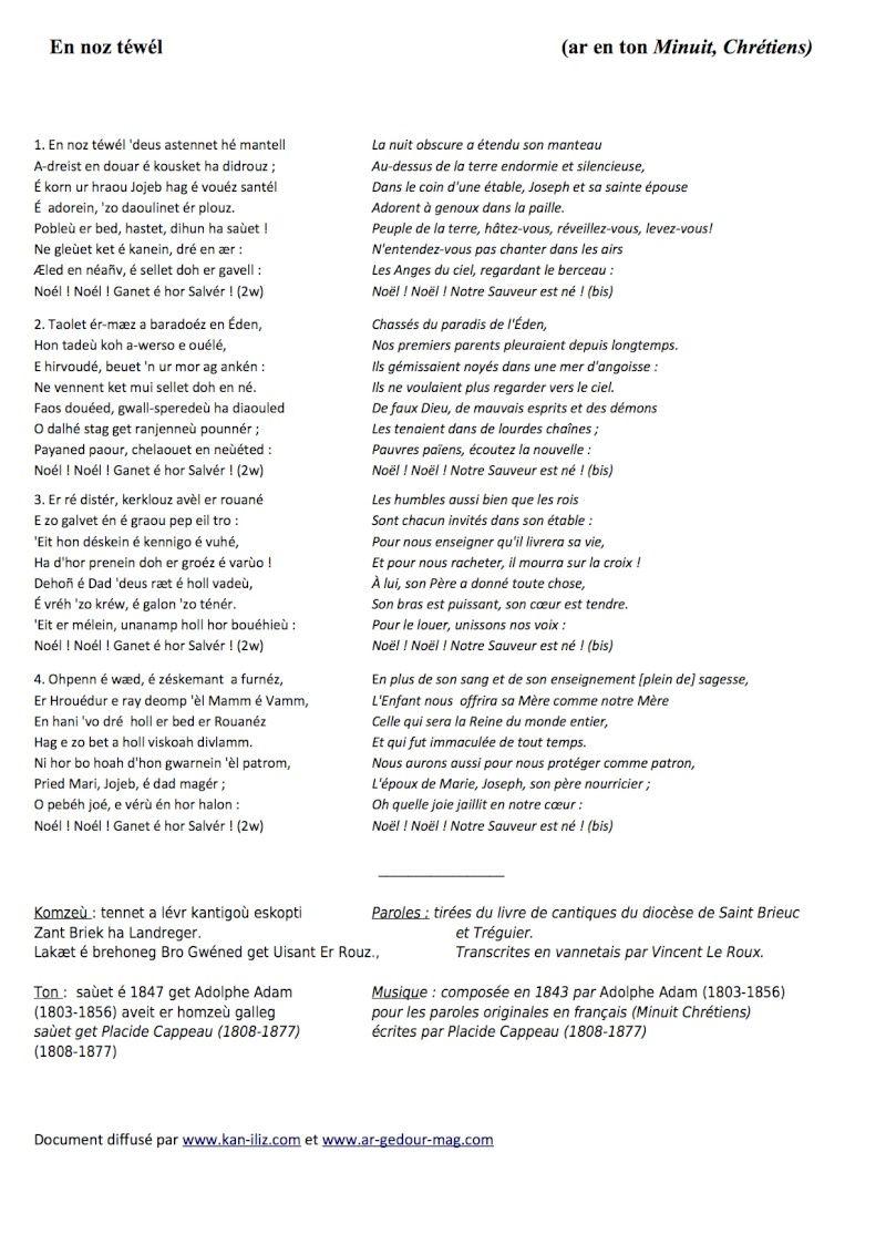 Traduction chanson en breton Gwened En-noz10