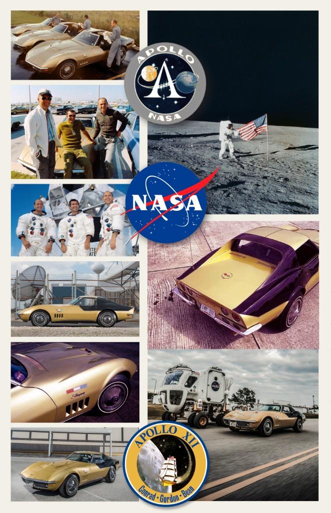 (Photo) La Corvette C3 et le programme Apollo ... Apollo12