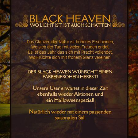 Black Heaven - Wünscht einen schönen Herbstanfang! Werbun11