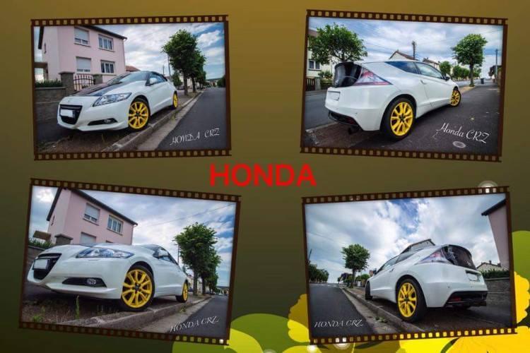 """NipponMike / CRZ GT pack Electra """" Jaunes Spoon """" / dept 54 / photos du Z 11356211"""