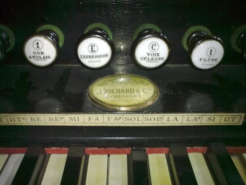 Harmonium J. Richard et C.ie - Etrepagny, Mod. n° 9 - 6 jeux 1/2 02022014