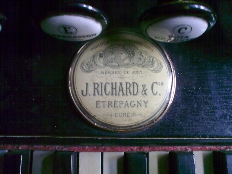Harmonium J. Richard et C.ie - Etrepagny, Mod. n° 9 - 6 jeux 1/2 02022015