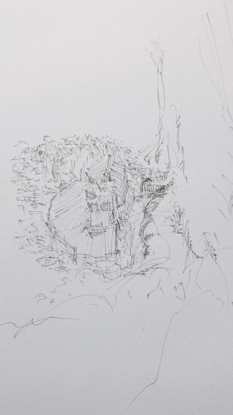 Purple Sketch 1410