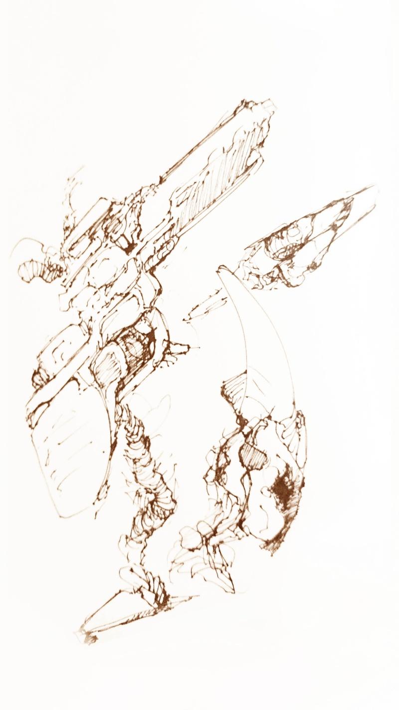 Purple Sketch 1610