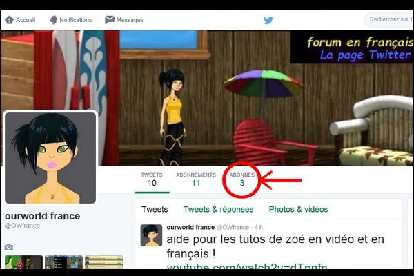 OurWorld France la page Twitter du forum  3_abon10