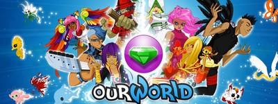 ourworld le monde virtuel