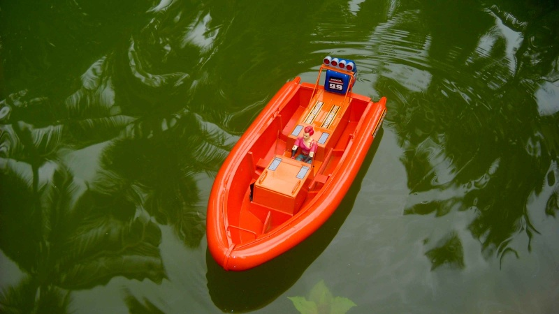 its my RESCUE DINGHIE...  2910
