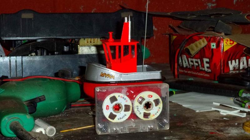 its my MYNA.. the micro tug..  M1210