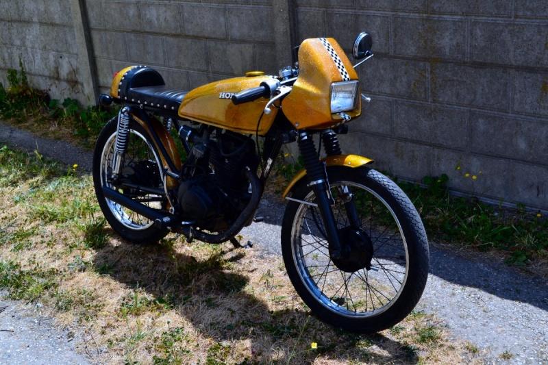 CG 125 old scool cafra Cg-411