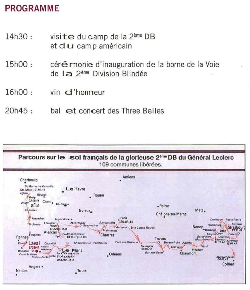 Borne du serment de Koufra: LAVAL (53) Laval310
