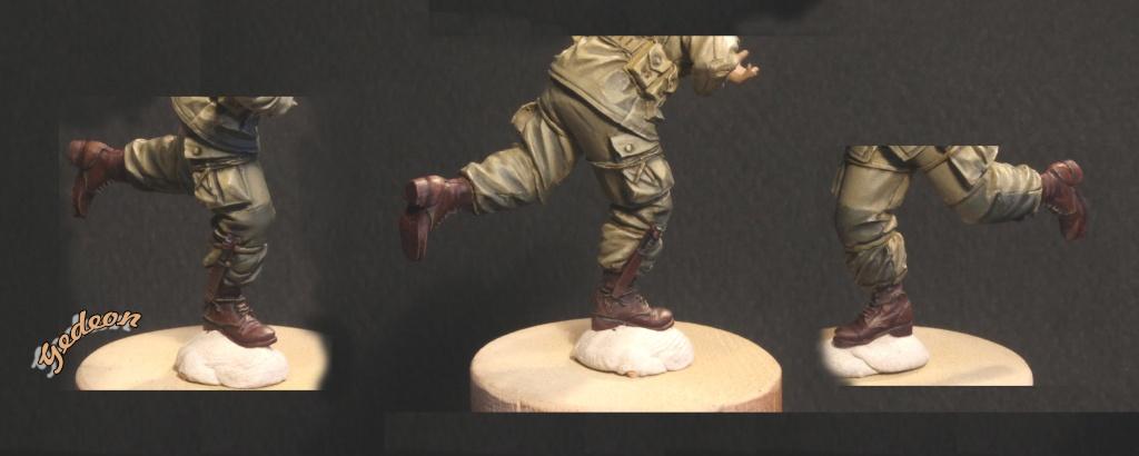 Tutoriel peinture d'un Parachutiste américain D-Day en résine (1/35) avec tête Hornet. - Page 3 Chauss17