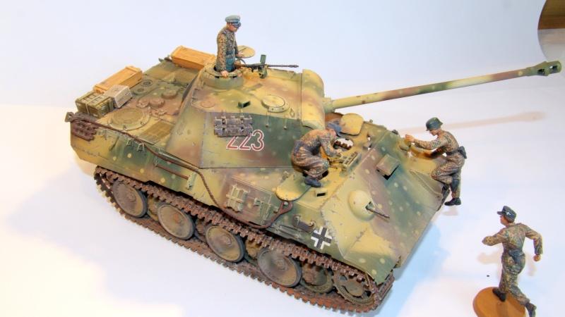 PANTHER A avec camouflage embuscade - TAMIYA - 1/35 Img_0013