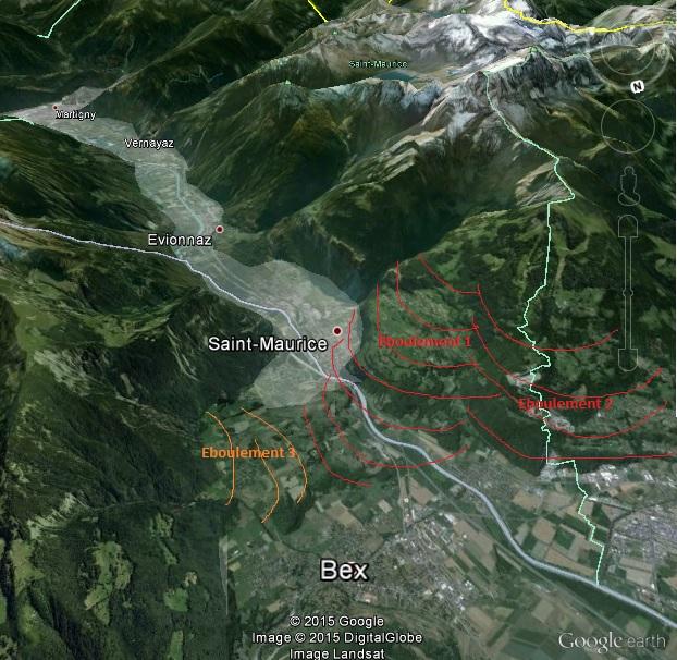L'effondrement du Tauredunum en l'an 563 (Valais, Suisse) Mont_t10