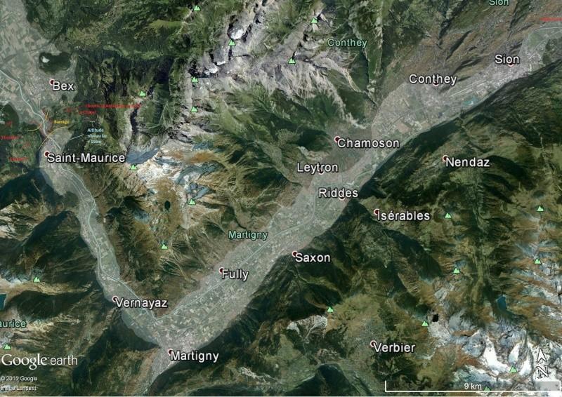 L'effondrement du Tauredunum en l'an 563 (Valais, Suisse) Mont_t11