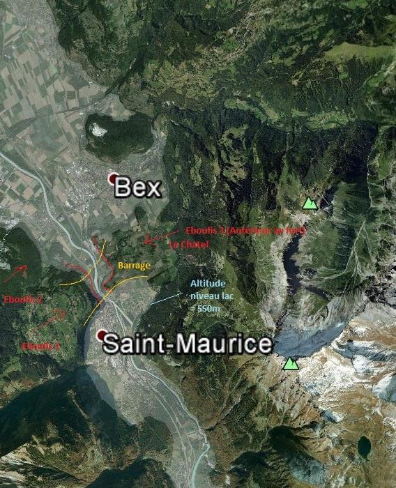L'effondrement du Tauredunum en l'an 563 (Valais, Suisse) Mont_t12