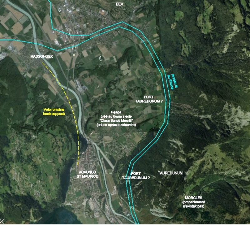 L'effondrement du Tauredunum en l'an 563 (Valais, Suisse) - Page 2 Taurus13