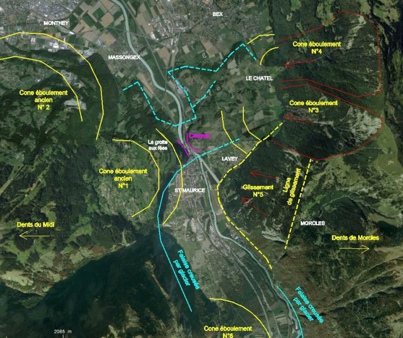 L'effondrement du Tauredunum en l'an 563 (Valais, Suisse) - Page 2 Taurus16