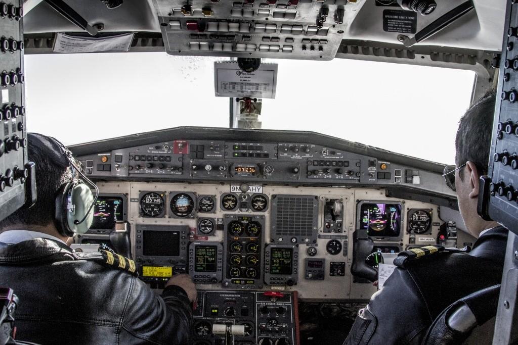 cockpit Yeti Airlines British Aerospace Jetstream 41 9N-AHY Cokp11