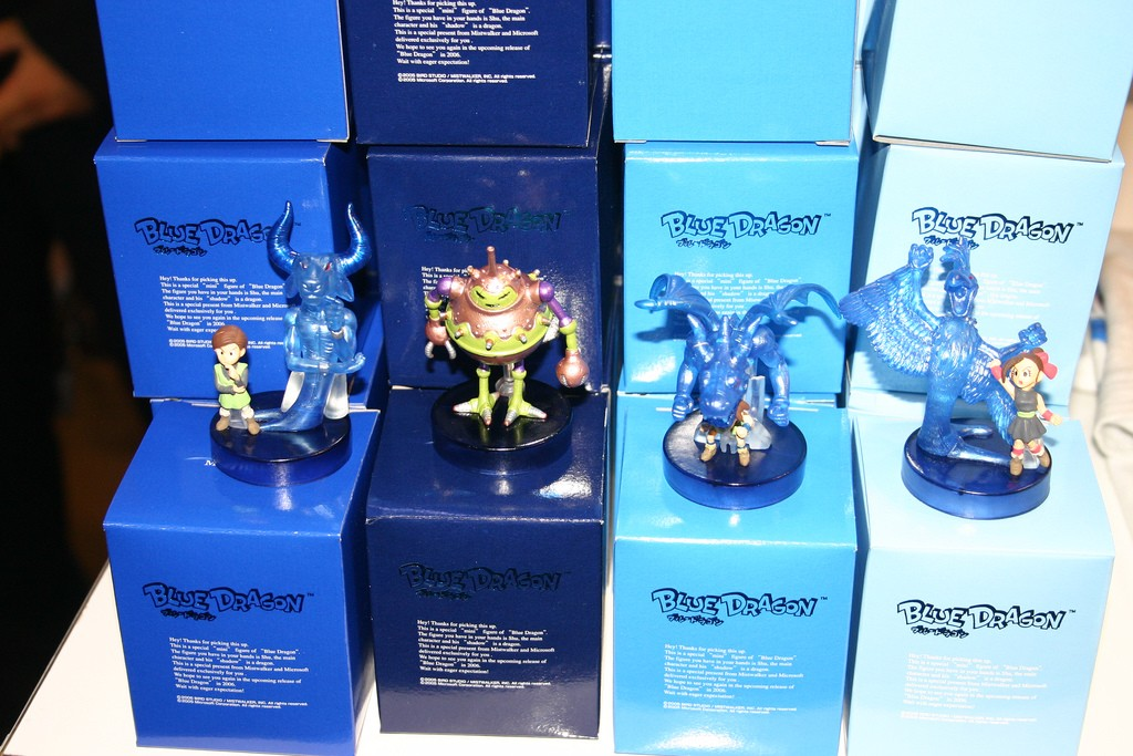 Mini figurines Blue Dragon et Lost Odyssey (Xbox 360) Tgs_2010