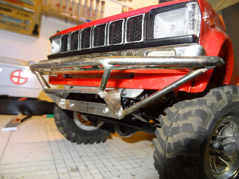 Optimisation RC4WD Trail finder 2 scale Trial Crawler Dsc03412