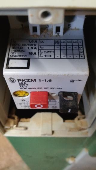 Disjoncteur Magnéto thermique 20150712