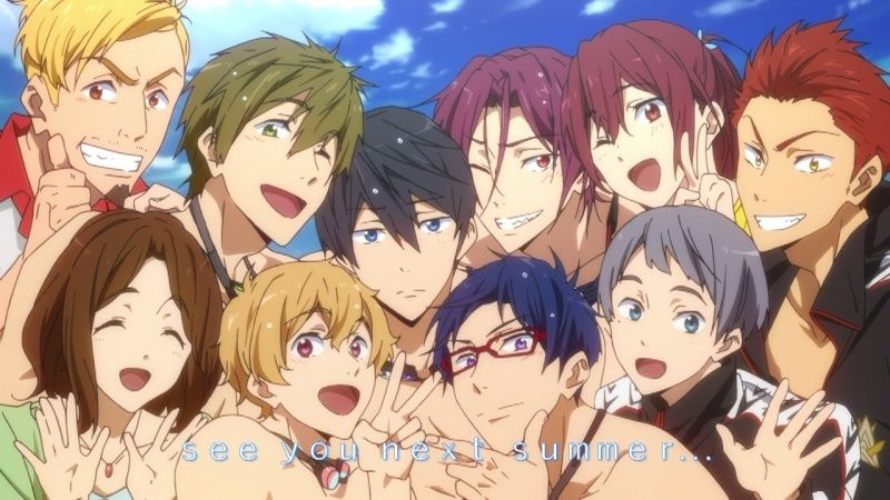 Free! Iwatobi Swiming RolClub