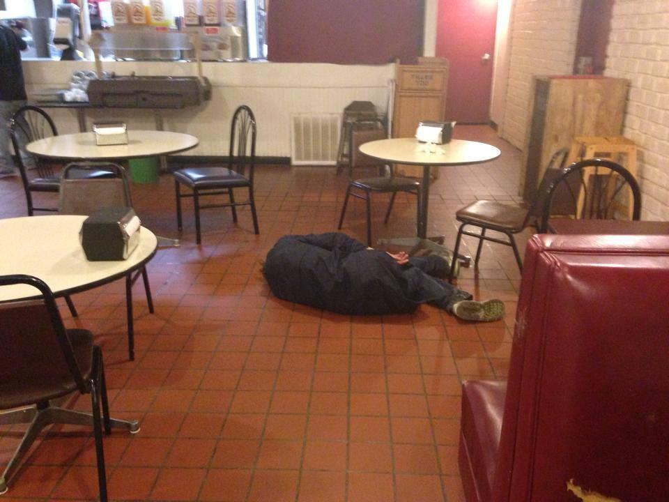 After eating at Alvarado's 10982410
