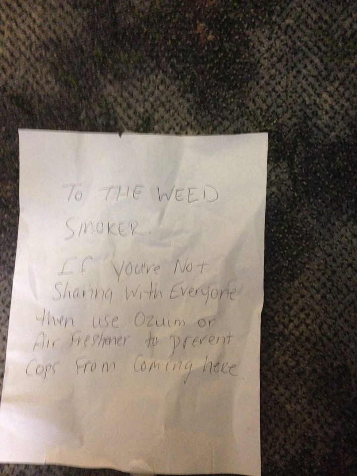 To the weed smoker... Fan photo 11402910