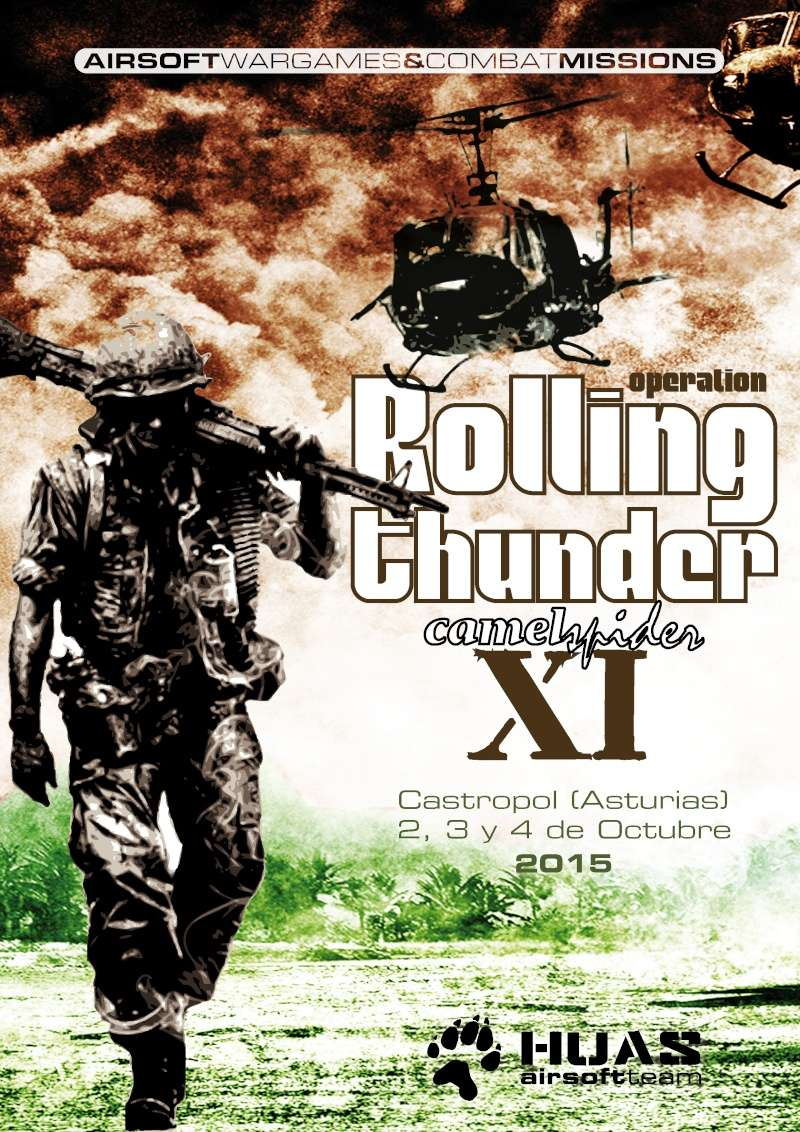 CAMELSPIDER XI - ROLLING THUNDER (VN EDITION) Rollin10