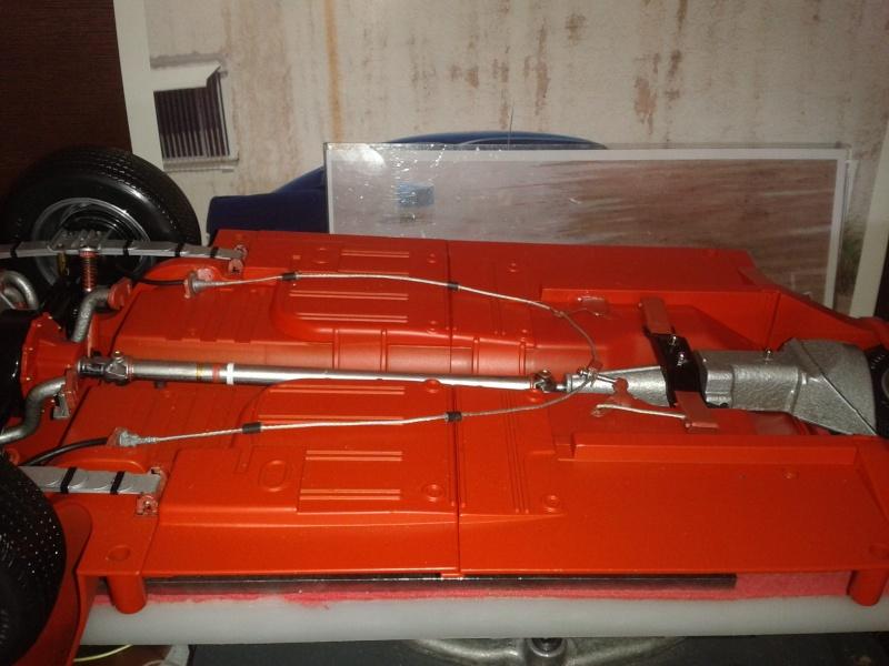 montage mustang gt 500 CHELBY 1967 au 1/8 de chez altaya 1010