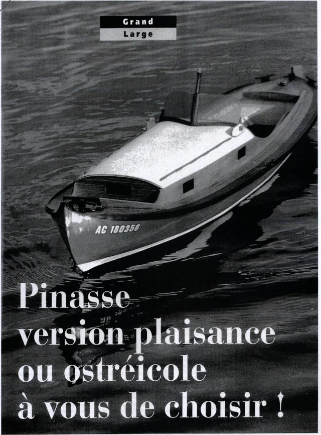Pinasse de plaisance d'Arcachon d'après plan MRB au 1/15ème   - Page 6 Pinass11