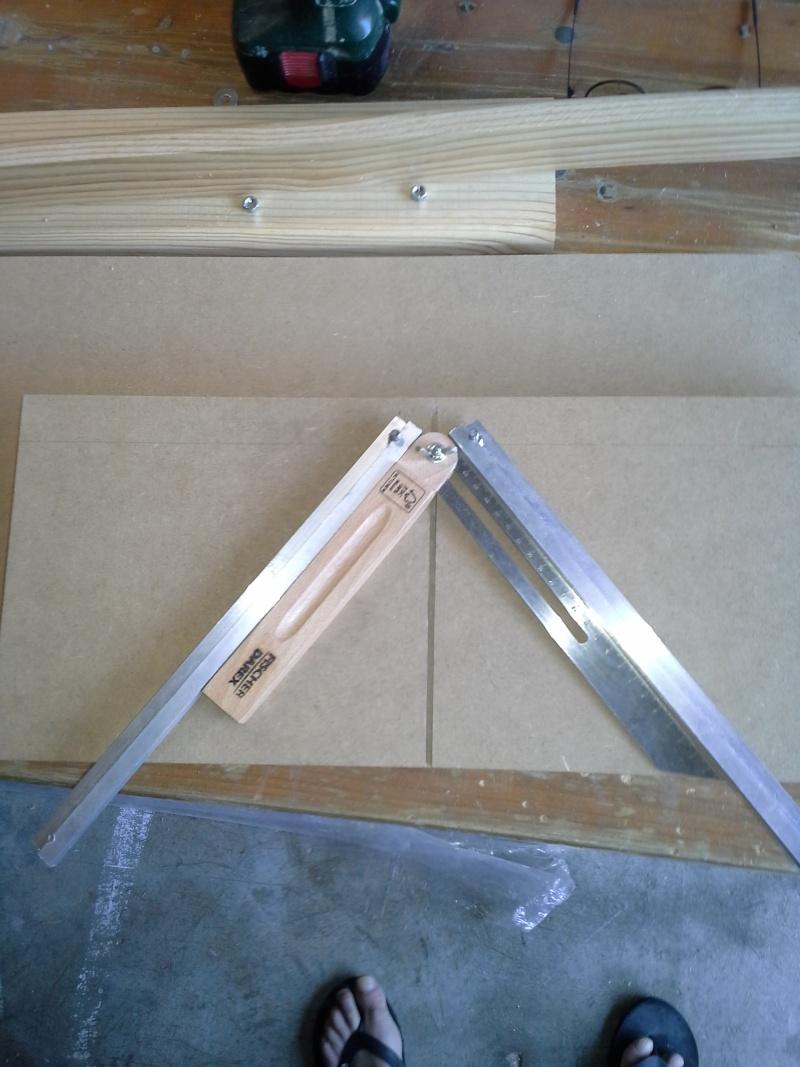 Gabarit tout angles pour scie à onglet radiale 510