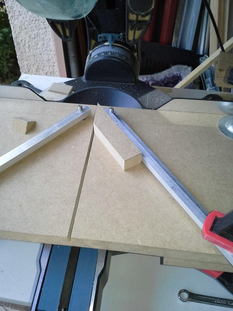 Gabarit tout angles pour scie à onglet radiale 810