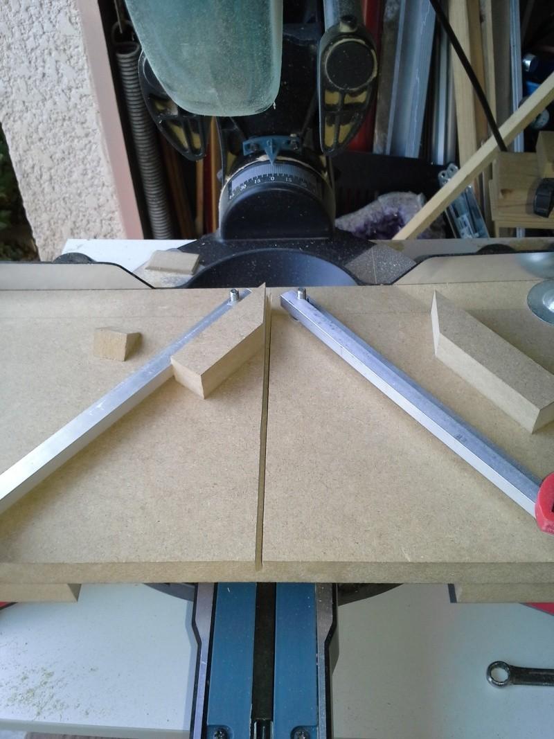 Gabarit tout angles pour scie à onglet radiale 910