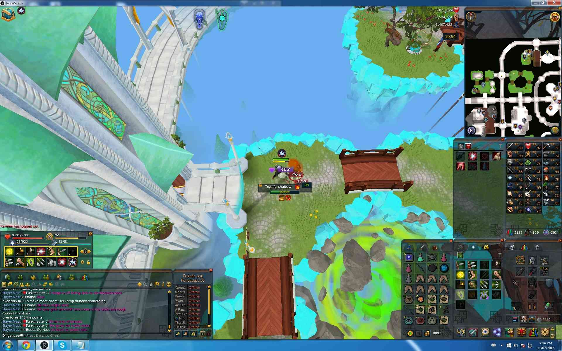 Runescape Interfaces Interf11