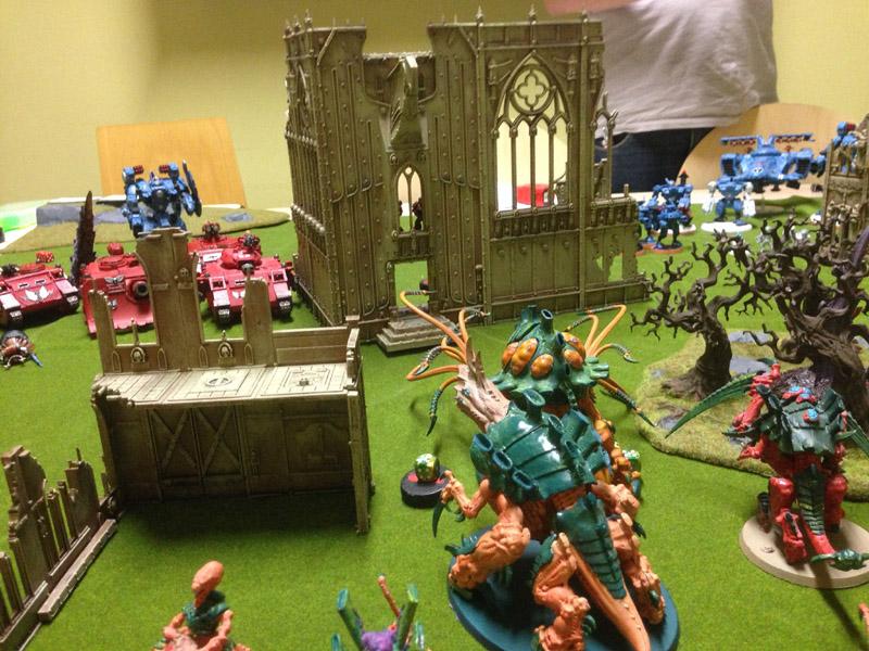 CR - Tau et Blood vs Tyranides Img_2513