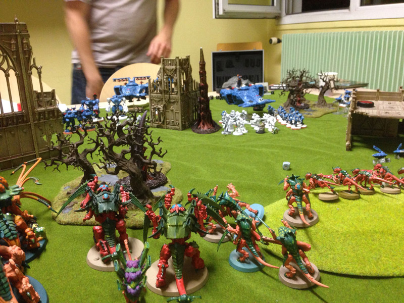 CR - Tau et Blood vs Tyranides Img_2514