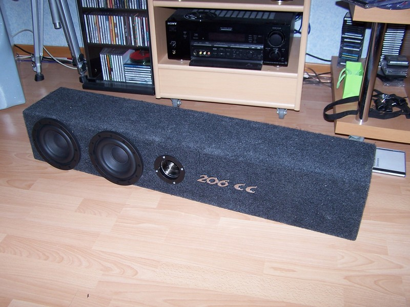 Systeme audio complet + création caisson Basse 3269110