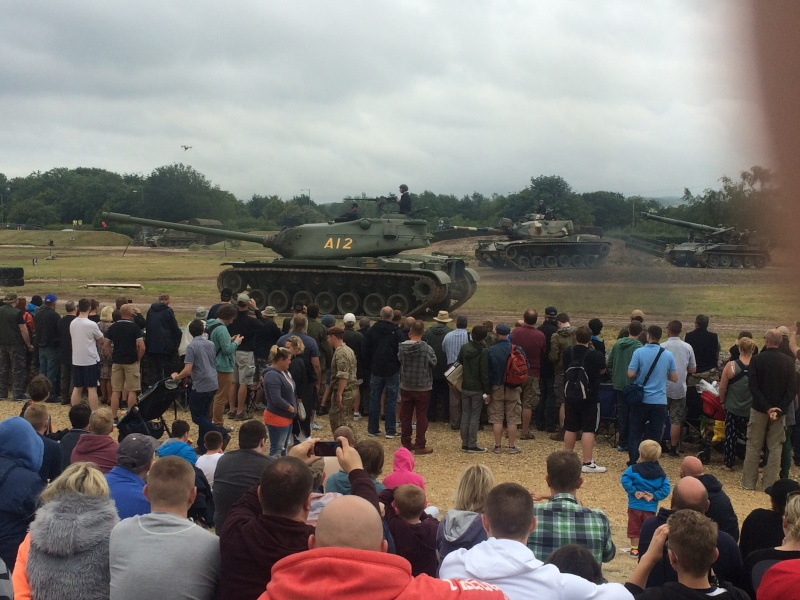 M103A2 making an appearance at Tankfest 2015 Img_0911