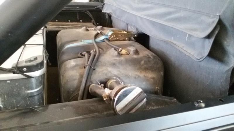 isolare termicamente il serbatoio del carburante ...come ? 20150811