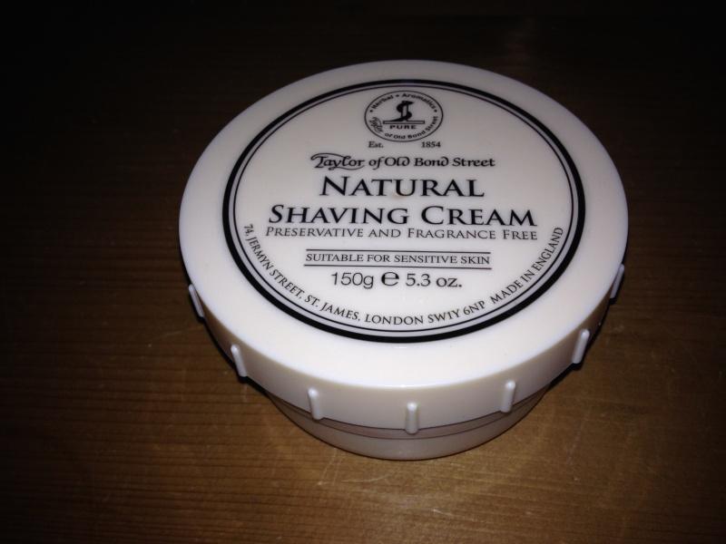 TOBS : crème de rasage Natural Img_0115