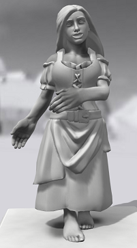 Galerie de Personnages 3D Hero Forge Carmen10