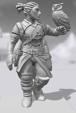 Galerie de Personnages 3D Hero Forge Gilnas10