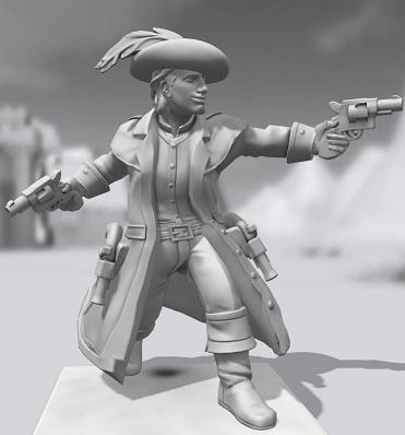 Galerie de Personnages 3D Hero Forge Grenai10