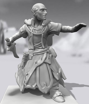 Galerie de Personnages 3D Hero Forge Sclera10