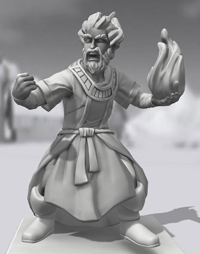 Galerie de Personnages 3D Hero Forge Tristo10