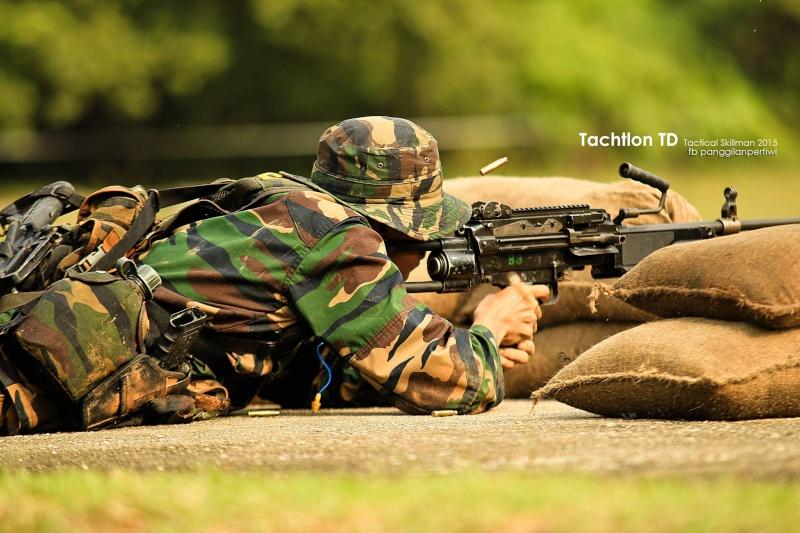Pertandingan Tachtlon TD Tactical Skillman 2015 11145210